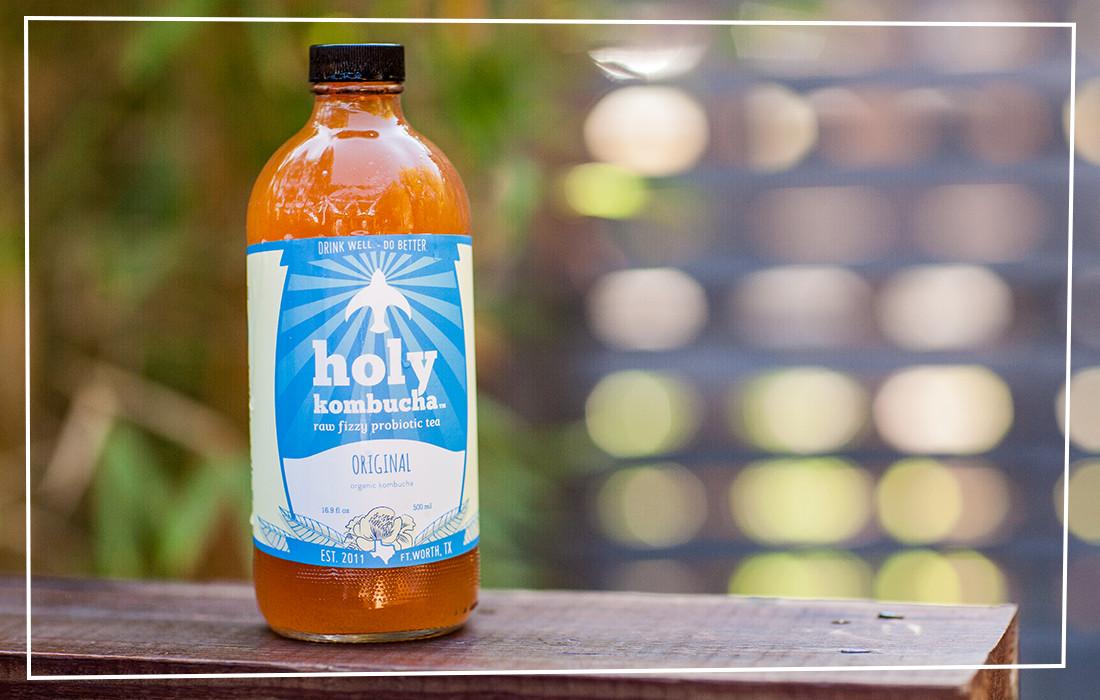 Holy Kombucha Brand & Logo Design 1