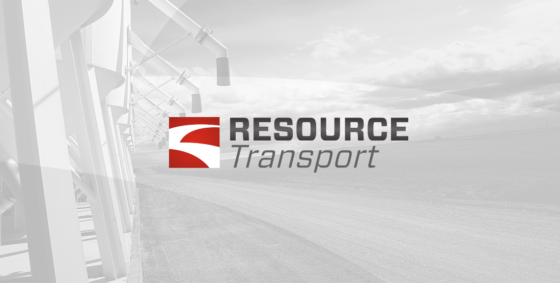 New logo design for Resource Transport