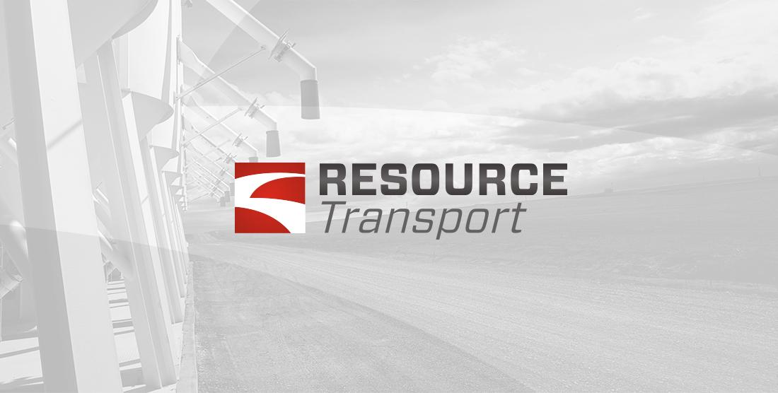 New logo design for Resource Transport