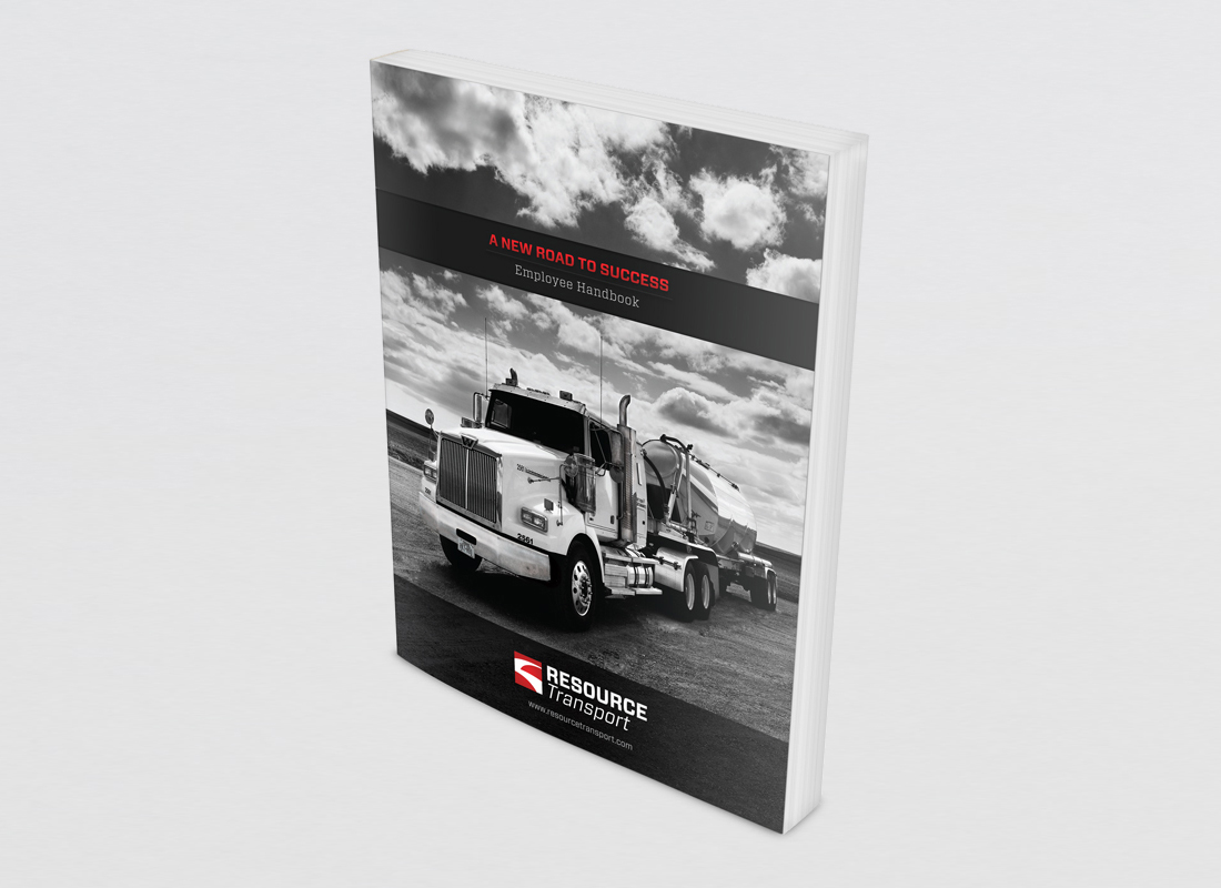 Employee Handbook designed for Resource Transport