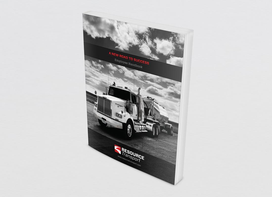 Employee Handbook designed for Resource Transport