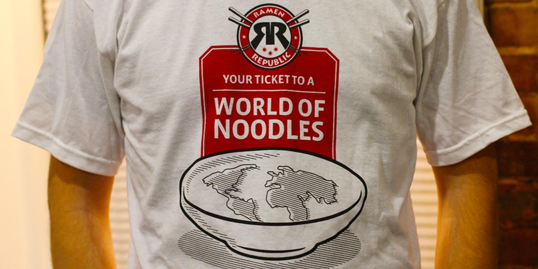 T-Shirt design for Ramen Republic.