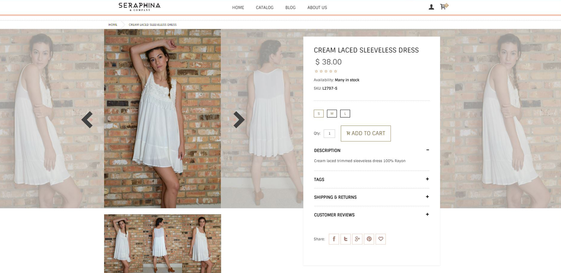 Shopseraphina.com-eCommerce-website