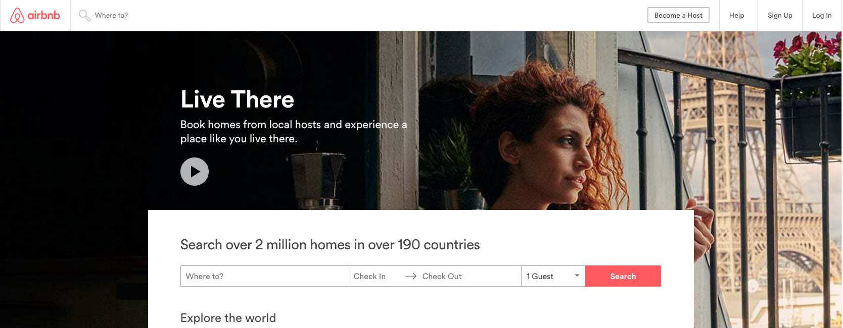 Airbnb UX
