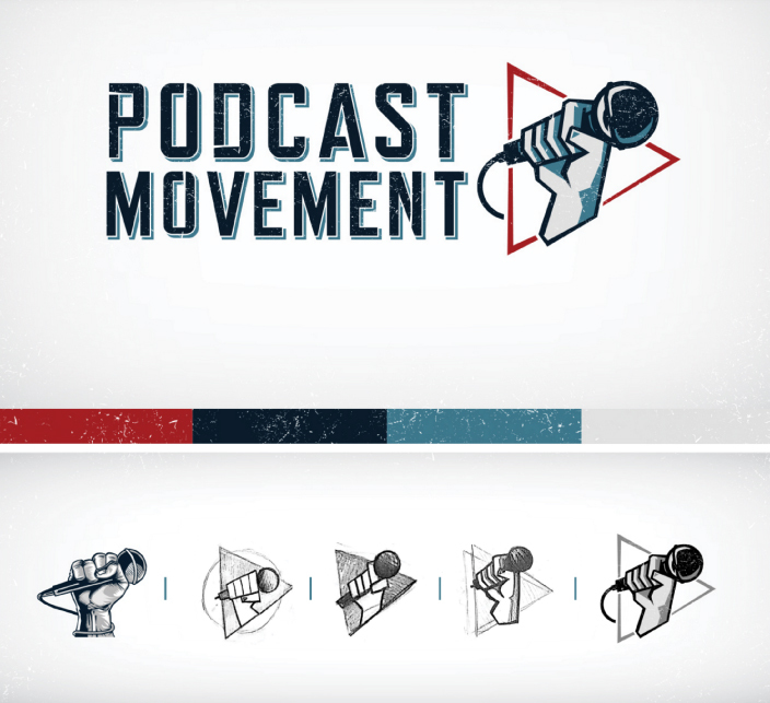 Podcast Movement Logo | Square 205 | Denton TX